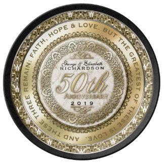 Louça De Jantar Fiftieth mármore das citações do ouro do