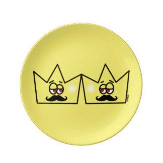Louça De Jantar Gay Rei Coroa King Crown