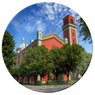 Louça De Jantar Igreja luterana nova em Kezmarok, Slovakia