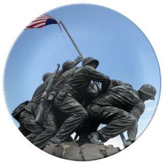 Louça De Jantar Memorial de Iwo Jima no Washington DC