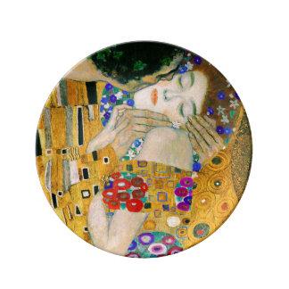 Louça De Jantar O beijo por Gustavo Klimt