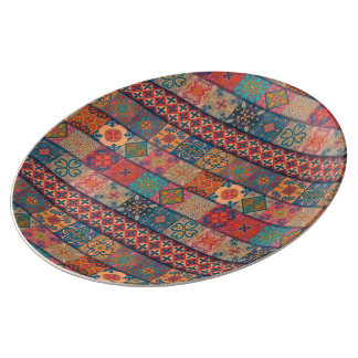 Louça De Jantar Ornamento de talavera do mosaico do vintage