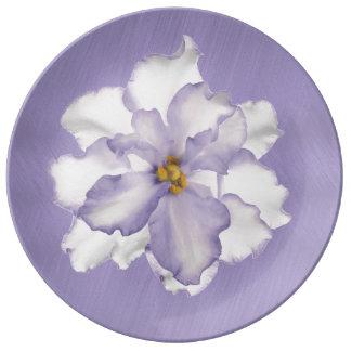 Louça De Jantar Orquídea bonita da lavanda