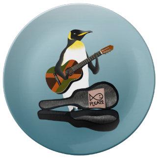 Louça De Jantar Pinguim Busking