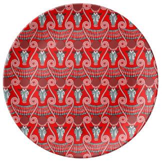 Louça De Jantar Placa decorativa da porcelana de Minotaur