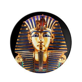 Louça De Jantar Rei Tutankhamun, máscara do ouro
