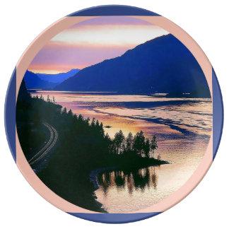 Louça Desfiladeiro do rio do Columba