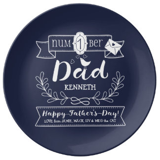 Louça Faça a seu próprio pai do no. 1 do dia dos pais o