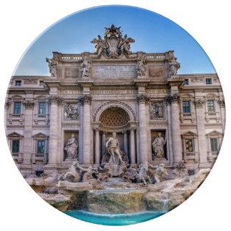 Louça Fonte do Trevi, Roma, Italia