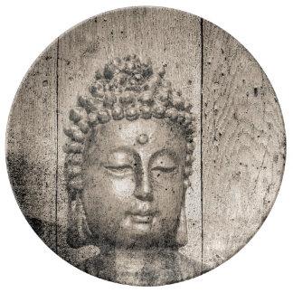 Louça Ioga de Buddha do vintage