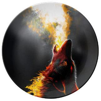 Louça Lobo do fogo