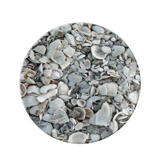 Louça Lotes e lotes dos Seashells