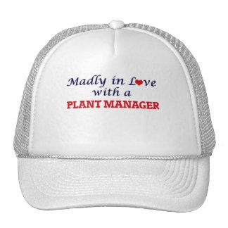 Louca no amor com um gerente de planta boné