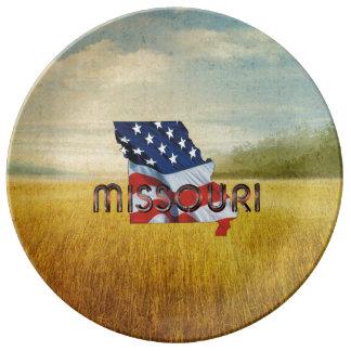 Louça Patriota de Missouri do T