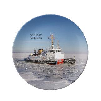 Louça Placa decorativa do gelo de baía de WTGB 103