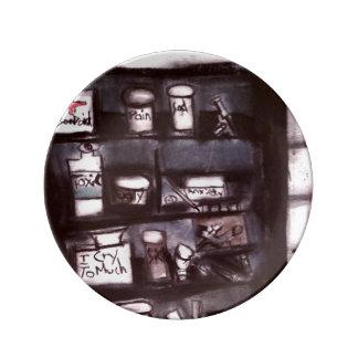 Louça Placa V.3 da overdose 8,5 da sociedade de
