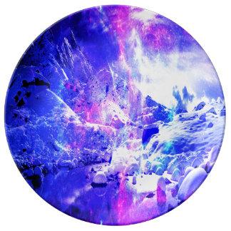 Louça Sonhos Amethyst da noite de Yule