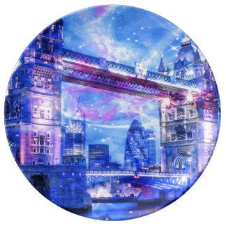 Louça Sonhos da Londres do amante
