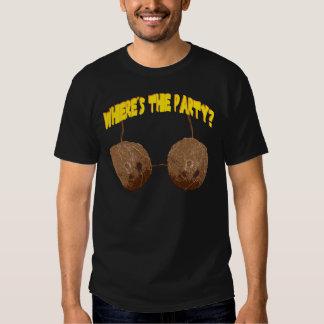 loucos do partido camisetas