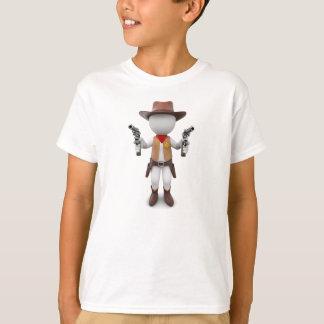 Loui whites como xerife camiseta
