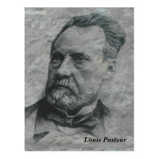 Louis Pasteur, Dolle, France - Cartão Postal