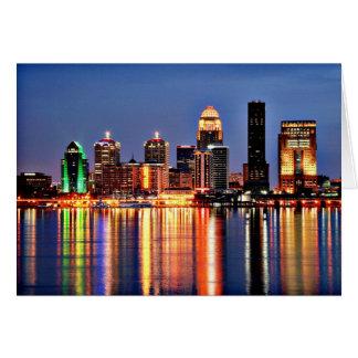 Louisville Kentucky Cartão Comemorativo