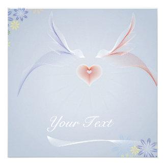 love birds convites personalizado