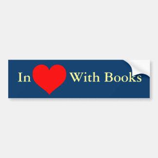 Love_Heart_SVG.svg, dentro ((())) Com livros Adesivo Para Carro