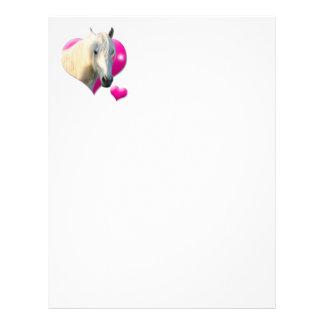 Love Horse Papel à Carta Papéis De Carta Personalizados