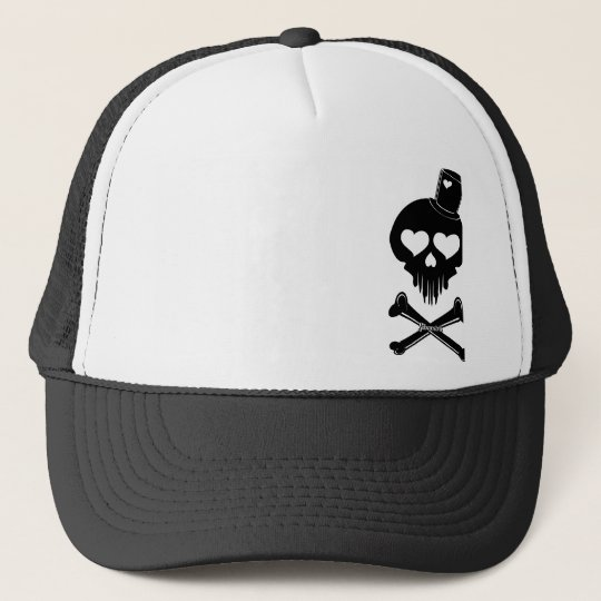 Love-Skull-003 Boné
