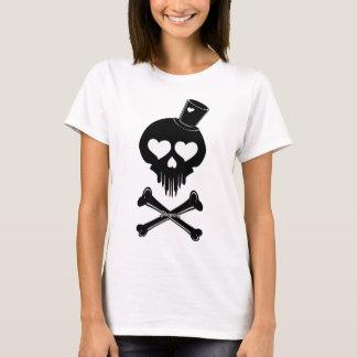 Love-Skull-003 Camiseta