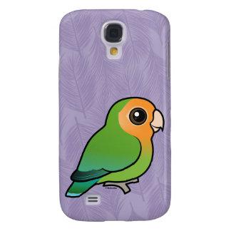 Lovebird Pêssego-enfrentado Alaranjado-enfrentado Galaxy S4 Covers
