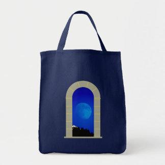 Lua baliza moon gate bolsas de lona
