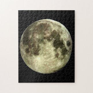 Lua cheia quebra-cabeça