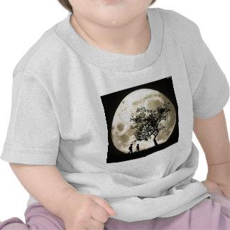 Lua cheia camiseta
