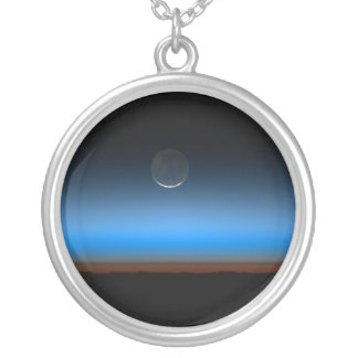 Lua da colar do espaço