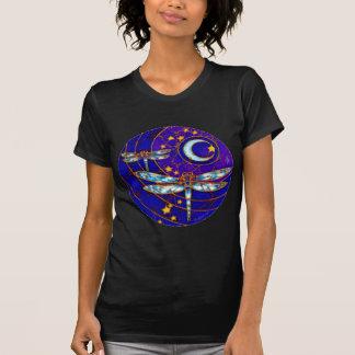 lua da libélula camiseta