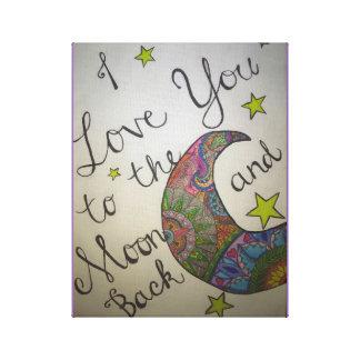 "Lua da mandala ""eu te amo """
