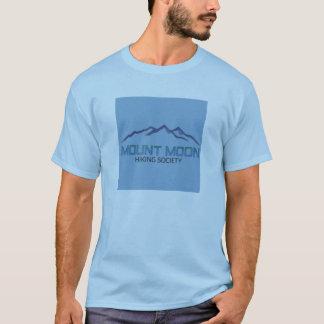 Lua da montagem camiseta