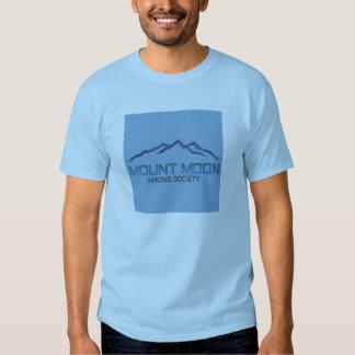 Lua da montagem t-shirts