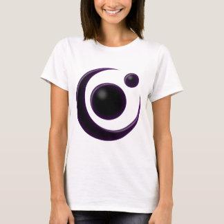 Lua da sombra camiseta