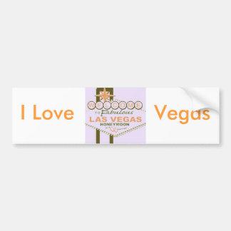 Lua de mel de Las Vegas Adesivo Para Carro