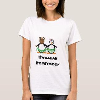 Lua de mel havaiana camiseta