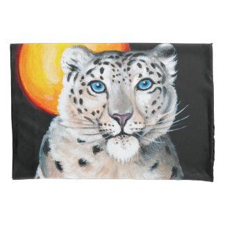 Lua do leopardo de neve