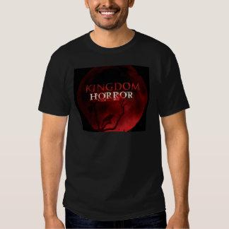 Lua do vermelho do horror do reino tshirt