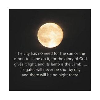 Lua e noite da revelação 21 não mais