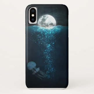 Lua nas capas de iphone da água