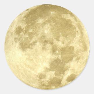 Lua super adesivo redondo