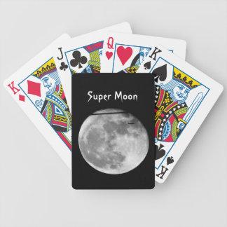 Lua super com a passagem do avião/customizável! jogos de baralhos