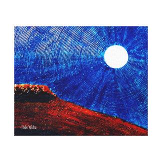 Lua vibrante